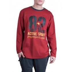 Ανδρική Πυτζάμα Homewear Apple - 100% Βαμβακερή - Sport Style - Hot Pick FW19/20