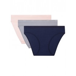 DIM Γυναικεία Σλιπς Les Pockets Cotton 8ZT - Βαμβακερά - Πακέτο με 3 - Καλοκαίρι 2020
