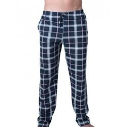 Ανδρικό Παντελόνι Homewear Harmony - 100% Βαμβακερό - Καρό Σχέδιο - Χειμώνας 18/19