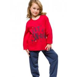 Πυτζάμα Παιδική HARMONY - 100% Βαμβακερή - Χειμώνας 2021/22