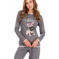 Πυτζάμα Γυναικεία MINERVA Bulldog - 100% Βαμβάκι Interlock - Hot Pick 19/20