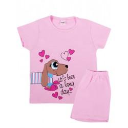 Παιδική Πυτζάμα MINERVA Long Dog - 100% Αγνό Βαμβάκι - Καλοκαίρι 2019