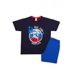 Παιδική Πυτζάμα MINERVA Goal King - 100% Αγνό Βαμβάκι - Hot Pick SS20