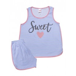 Παιδική Πυτζάμα MINERVA Sweet - 100% Αγνό Βαμβάκι - Καλοκαίρι 2021
