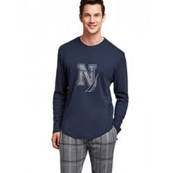 Ανδρικό Homewear NAUTICA - Γεμάτο Modal & Βαμβάκι - Fleece Παντελόνι - Χειμώνας 2021/22