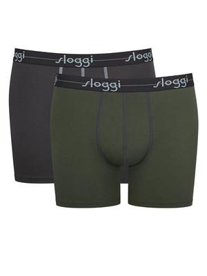SLOGGI Men Start Short V017 - Αγνό Βαμβάκι - Πακέτο με 2 - Καλοκαίρι 2021