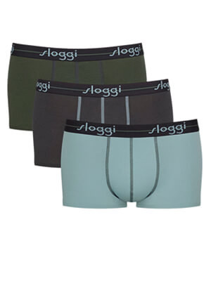 SLOGGI Men Start Hipster M010 - Αγνό Βαμβάκι - Πακέτο με 3 - Χειμώνας 2021/22