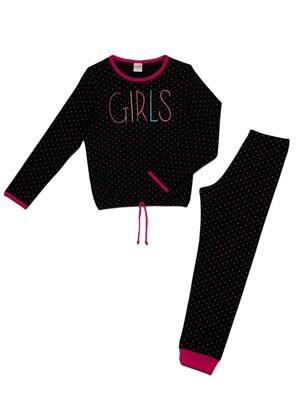 Παιδική Πυτζάμα MINERVA GIRLS - 100% Αγνό Βαμβάκι - Χειμώνας 2021/22