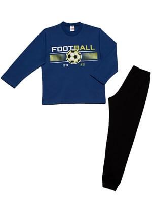 Παιδική Πυτζάμα MINERVA FOOTBALL - 100% Aγνό Βαμβάκι - Χειμώνας 2021/22