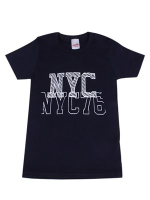 Παιδικό Εφηβικό T-shirt Minerva N.Y.C - 100% Βαμβάκι