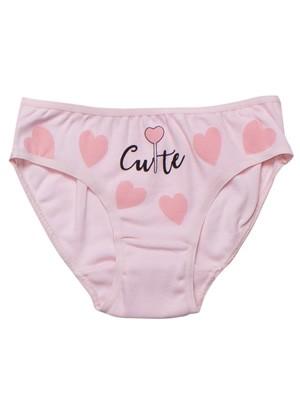 Παιδικό-Εφηβικό Σλιπ MINERVA Cute Hearts - 100% Αγνό Βαμβάκι