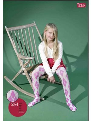Παιδικό Καλσόν IDER - Αδιάφανο Microfibra 70 den  -  Με γεωμετρικό σχέδιο