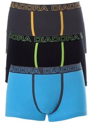 Diadora Boxer 5863 - Βαμβακερό - Φαρδύ Λάστιχο - Logo Diadora - 3 τεμάχια