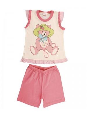 Παιδική  Πυτζάμα Minerva για κορίτσι - 100%  Βαμβάκι