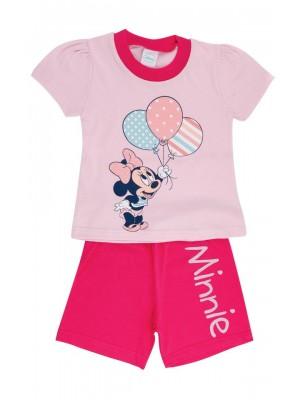 Βρεφική Πυτζάμα Minerva Minnie για κορίτσι - 100%  Βαμβάκι - Πολύ Απαλή