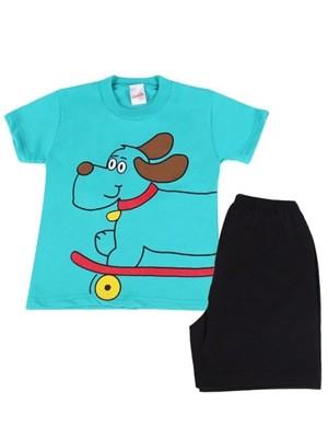 Βρεφική Πυτζάμα Minerva Dog για αγόρι - 100% Βαμβάκι