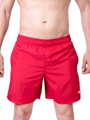 Ανδρικό Μαγιό Diadora - Shorts Μακρύ - Πλαϊνές Τσέπες - Κόκκινο