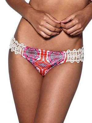 Μαγιό Bluepoint Brazilian Bikini Mystery - Λαμπερό Βελούδο - Δαντέλα Κέντημα