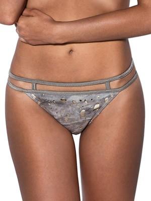 Μαγιό Bluepoint Dusty Bikini - Κανονικό Κοφτό - Βελούδο & Λωρίδες