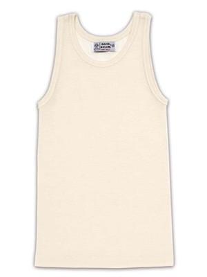 Helios Παιδική Μάλλινη Φανέλα Φαρδιά Τιράντα - 100% Αγνό Μαλλί - Φυσική Ισοθερμική Προστασία