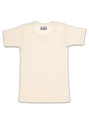 Helios Παιδική Μάλλινη Φανέλα Κοντό Μανίκι - 100% Αγνό Μαλλί - Φυσική Ισοθερμική Προστασία