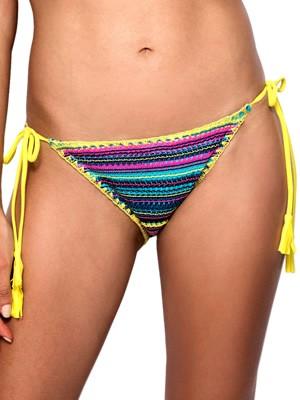 Μαγιό Blu4u Blanket Crochet Bikini Κανονικό - Δένει στο Πλάι - Πλεχτό Σχέδιο
