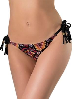 Μαγιό Gossip Slip Tanga Laces - Bikini Κανονικό - Δένει στο Πλάι