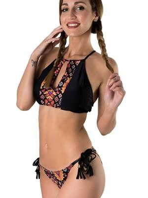 Set Μαγιό Gossip Ethnic 9557 - Bralette Αόρατη Ενίσχυση + Bikini Κανονικό