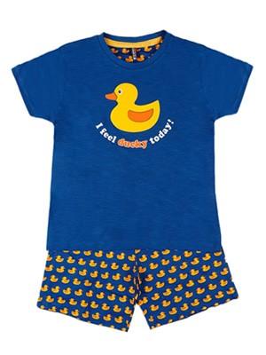 Παιδική Πυτζάμα ADMAS Ducky για αγόρι - 100% Βαμβακερή - Καλοκαίρι 2020