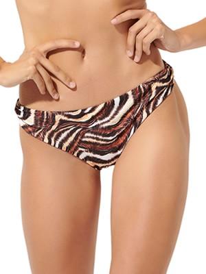 Μαγιό BLU4U Zebra Bikini Κοφτό - Χωρίς Ραφές Πίσω - Κολακεύει την Σιλουέτα - Καλοκαίρι 2020