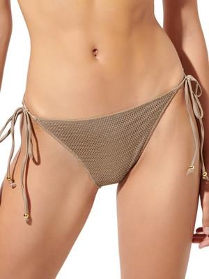 Μαγιό BLU4U Net Bikini Κανονικό - Δένει στο Πλάι - Δίχτυ Lurex - Καλοκαίρι 2020