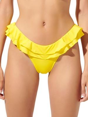 Μαγιό BLU4U Bikini Κανονικό & Βολάν Σχέδιο Ζώνης - Καλοκαίρι 2020