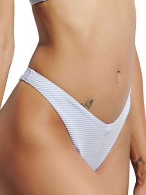 Μαγιό BLU4U Girly Stripes - Brazilian Bikini Ψηλό - Καλοκαίρι 2021