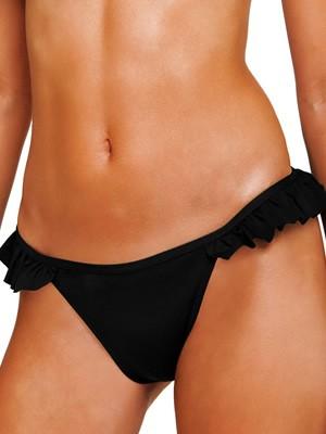 Μαγιό BLU4U Bikini Κανονικό Κοφτό - Σχέδιο Βολάν - Καλοκαίρι 2019