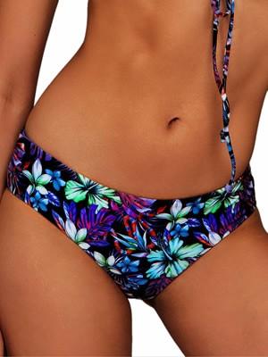 Μαγιό BLU4U Purple Tropics Bikini Κανονικό - Χωρίς Ραφές - Καλοκαίρι 2019