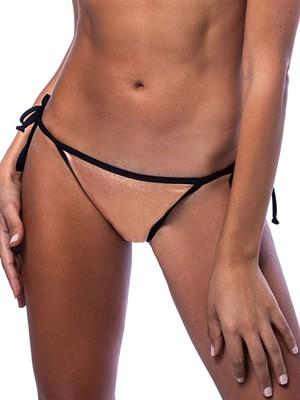 Μαγιό BLUEPOINT Brazilian Bikini Copper - Μεταλιζέ Ύφασμα