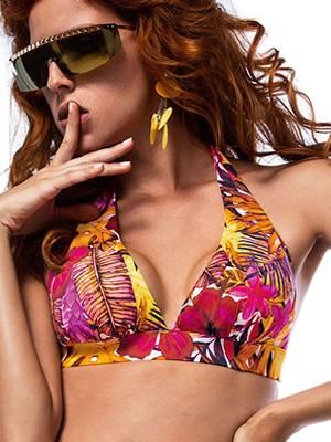 Μαγιό BLUEPOINT Tropical Punch - Τρίγωνο για Μεγάλο Στήθος - Χωρίς Μπανέλα