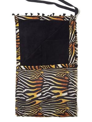 BLUEPOINT Πετσέτα Παραλίας Zebra 1.80x1 - Απαλό Ύφασμα - Κρόσια - Καλοκαίρι 2021