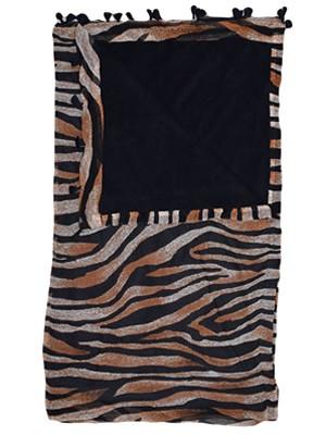 BLUEPOINT Πετσέτα Παραλίας Tiger/Leo 1.80x1 - Απαλό Ύφασμα - Κρόσια - Καλοκαίρι 2021