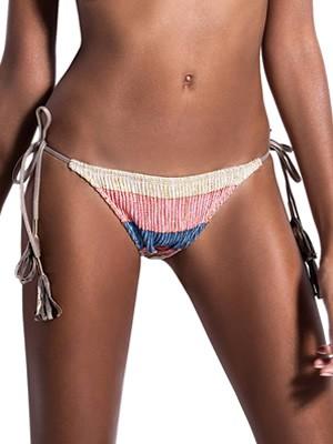 Μαγιό BLUEPOINT Bikini Κανονικό Κοφτό Sunset - Μεταλιζέ Πλεχτό Σχέδιο Lurex - Καλοκαίρι 2019