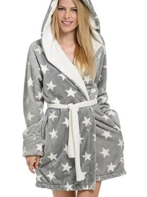 Ρόμπα Πολυτελείας Bonne Nuit – Γεμάτο Fleece – Γούνινη Επένδυση