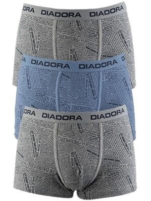 Diadora Boxer - Βαμβακερό - Φαρδύ Λάστιχο - Logo Diadora - 3 τεμάχια