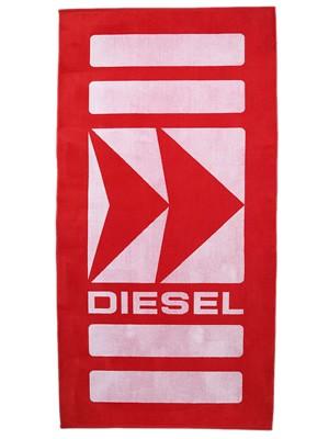 DIESEL Πετσέτα Θαλάσσης 175X90 - 100% Βαμβακερή - Fish Logo - Καλοκαίρι 2020