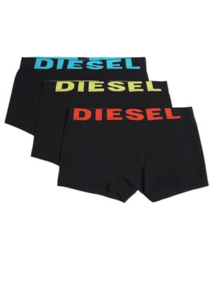 DIESEL Shwan Boxers - Ελαστικό Βαμβάκι - Logo Diesel - Πακέτο με 3 - Καλοκαίρι 2020