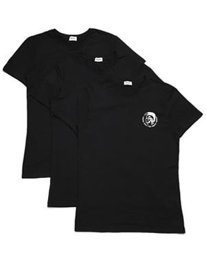 DIESEL Ανδρικά T-Shirt - Ελαστικό Βαμβάκι - Mohawk Logo - Πακέτο με 3  - Χειμώνας 2019/20