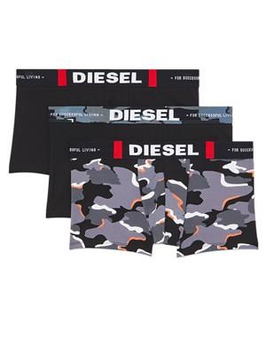 DIESEL Boxer - Ελαστικό Βαμβάκι - Camouflage Print  - Πακέτο με 3 - Χειμώνας 2020/21