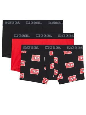 DIESEL Boxers - Ελαστικό Βαμβάκι - Denim Division Logo - Πακέτο με 3