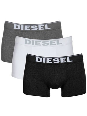 Diesel Kory  Boxer Trunk  - Ελαστικό Βαμβάκι  - 3 τεμάχια