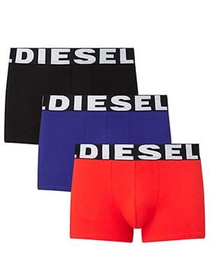 Diesel SHAWN Boxer Trunk  - Πακέτο των 3 - Ελαστικό Βαμβάκι