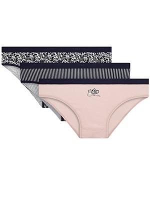 DIM Γυναικεία Σλιπς Les Pockets Cotton 8PD - Βαμβακερά - Πακέτο με 3